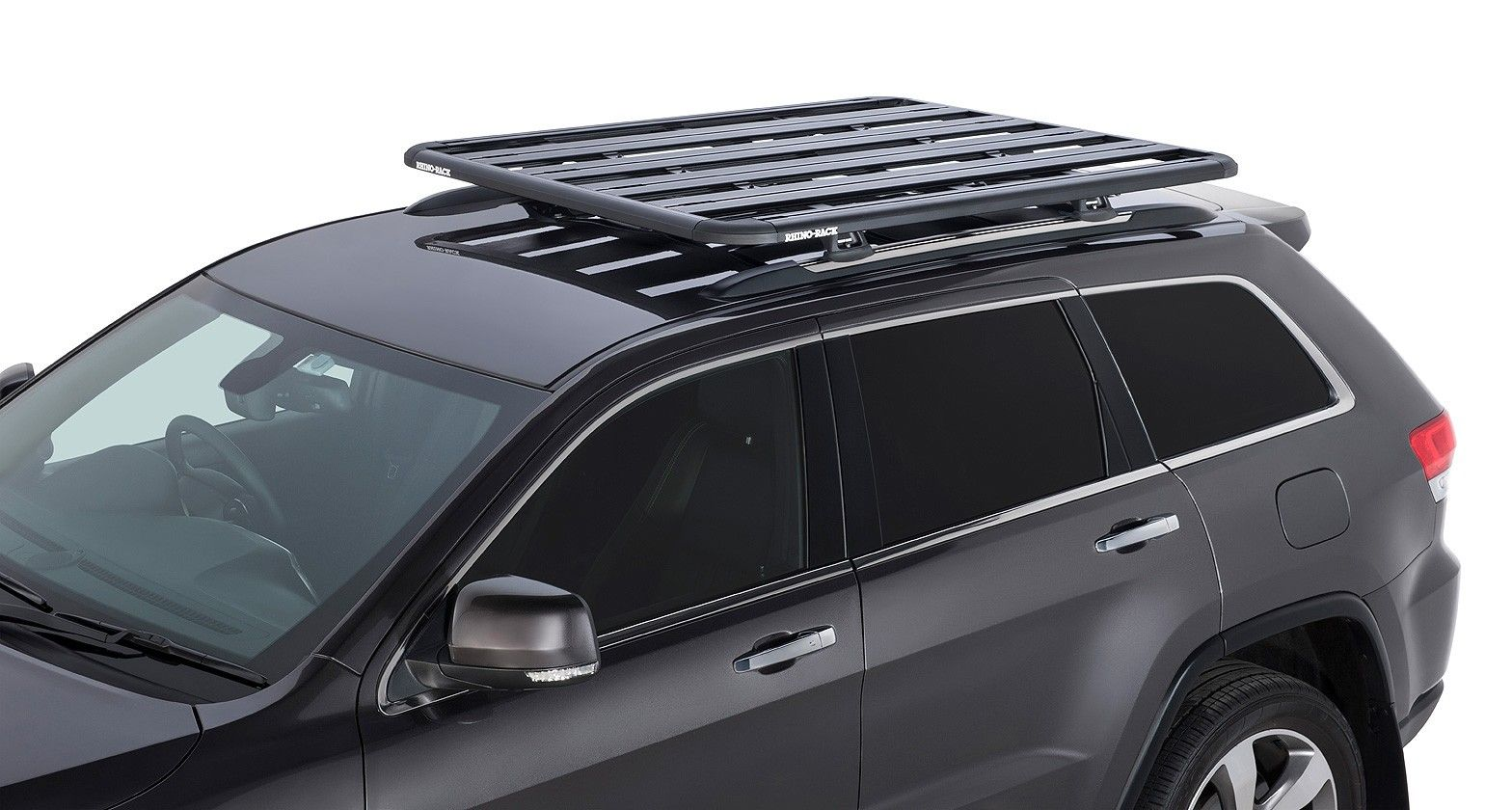 Jeep Grand Cherokee With Rhino Rack Pioneer Platform Vehicle Roof