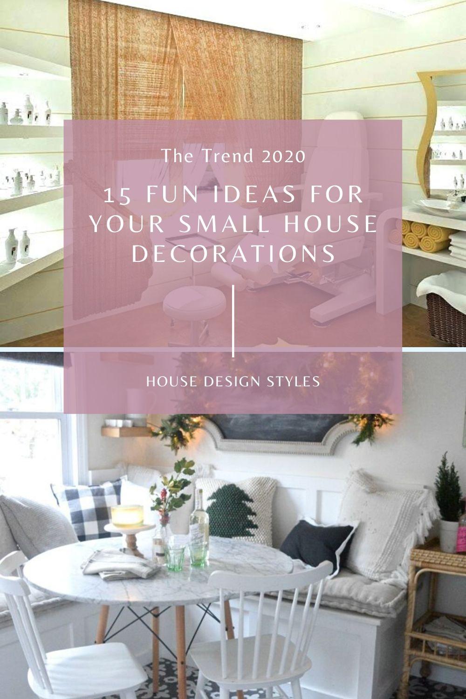 Small House Decoration Ideas In 2020 Small House Design Home Decor Decor