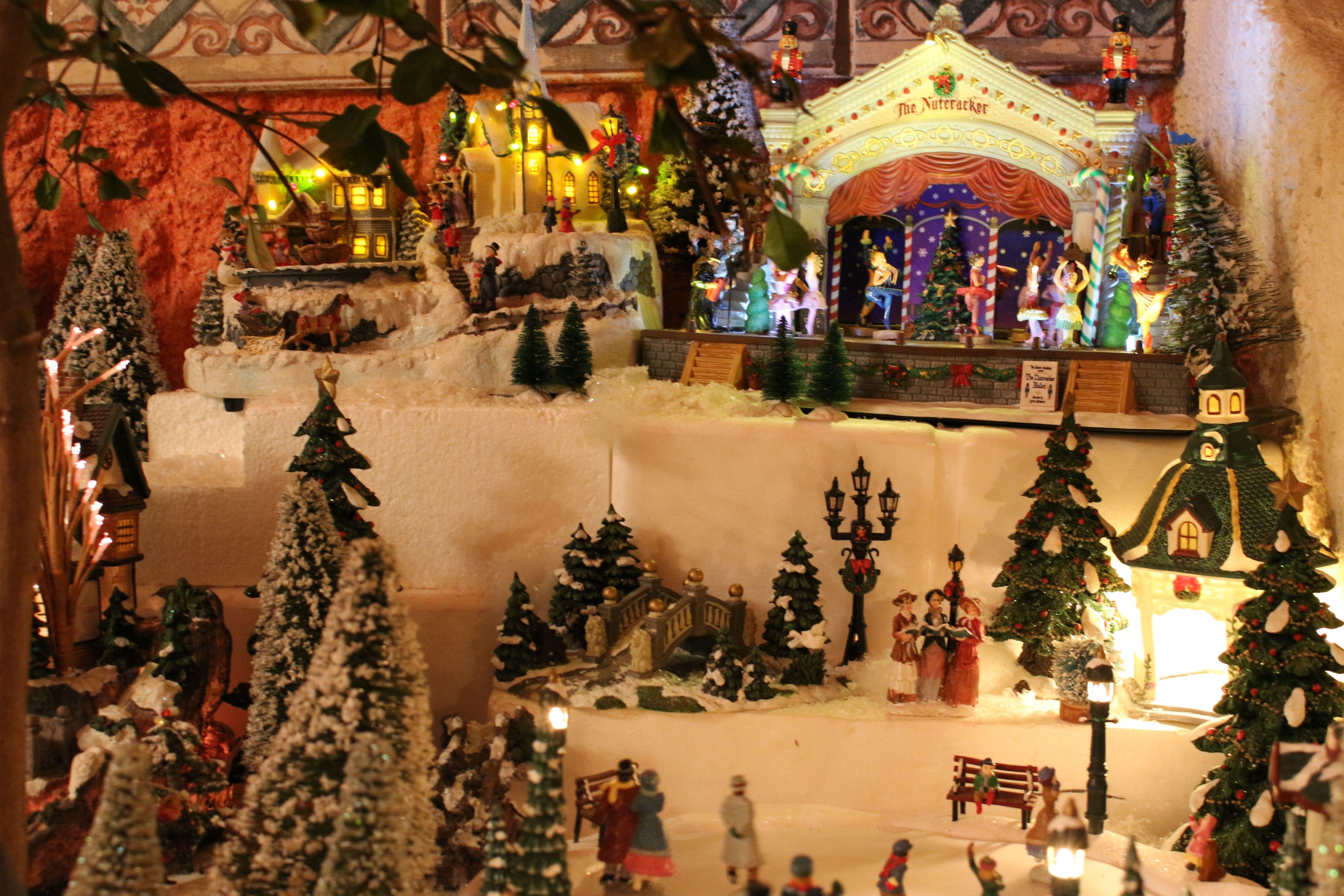 31f435d1e5e villa navideña Miniaturas