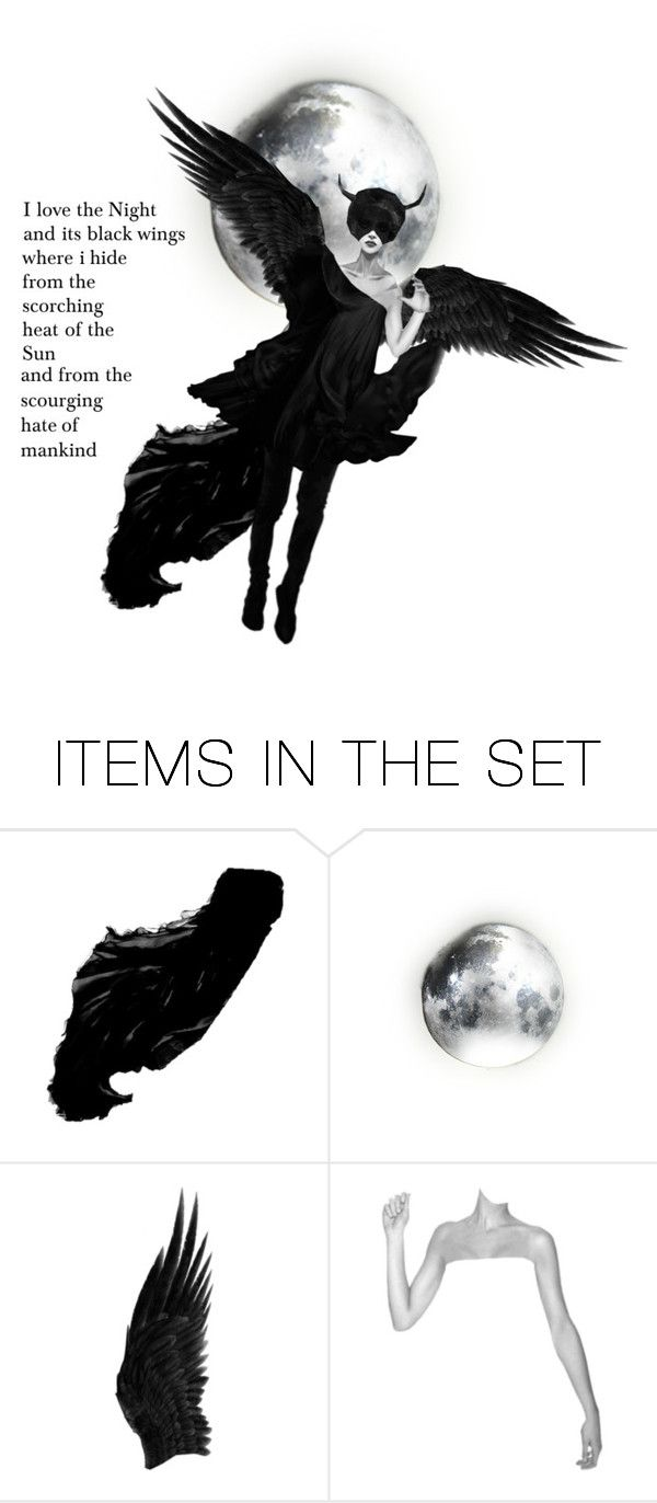 """The Night where i hide"" by wintermoon ❤ liked on Polyvore featuring art"