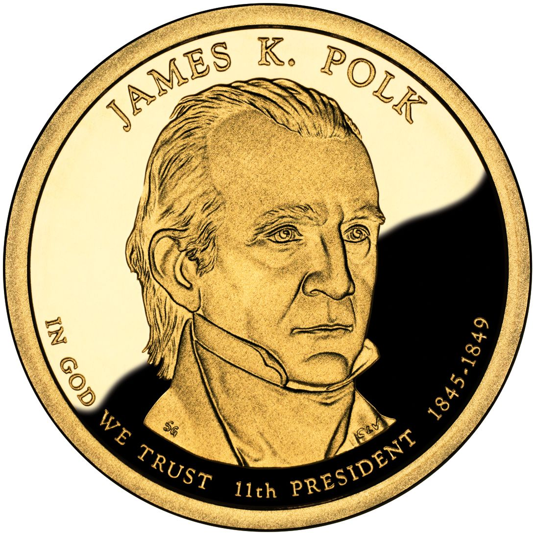 2009 D US Dollar Coin James K Polk in BU Condition