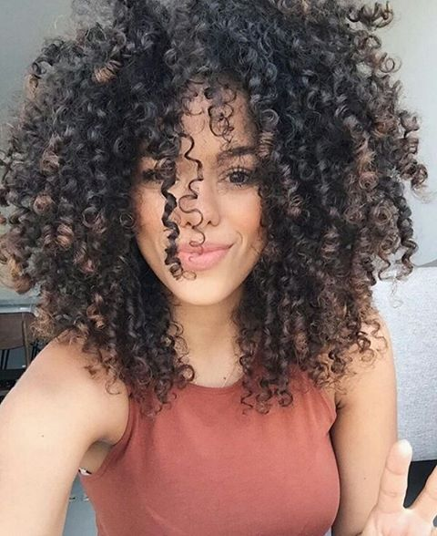 pin von dezlarree rose auf curl love hair makeup pinterest afro haare frisur. Black Bedroom Furniture Sets. Home Design Ideas
