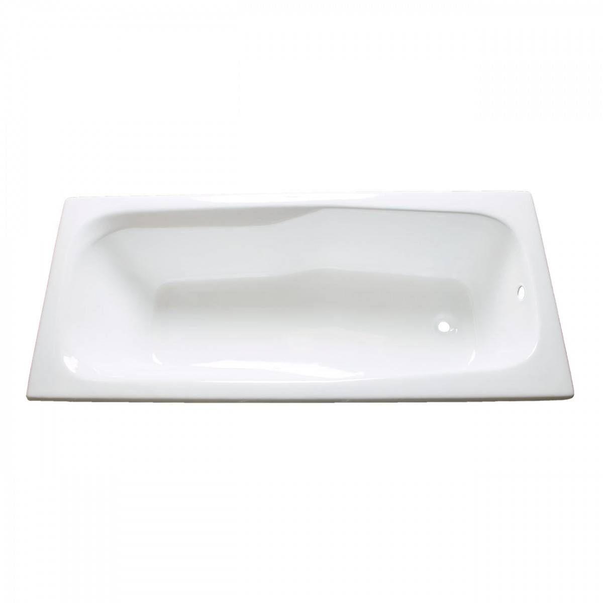 Greco 71 Inch Cast Iron Drop In Tub No Faucet Drillings In 2020 Drop In Tub Drop In Bathtub Vintage Tub