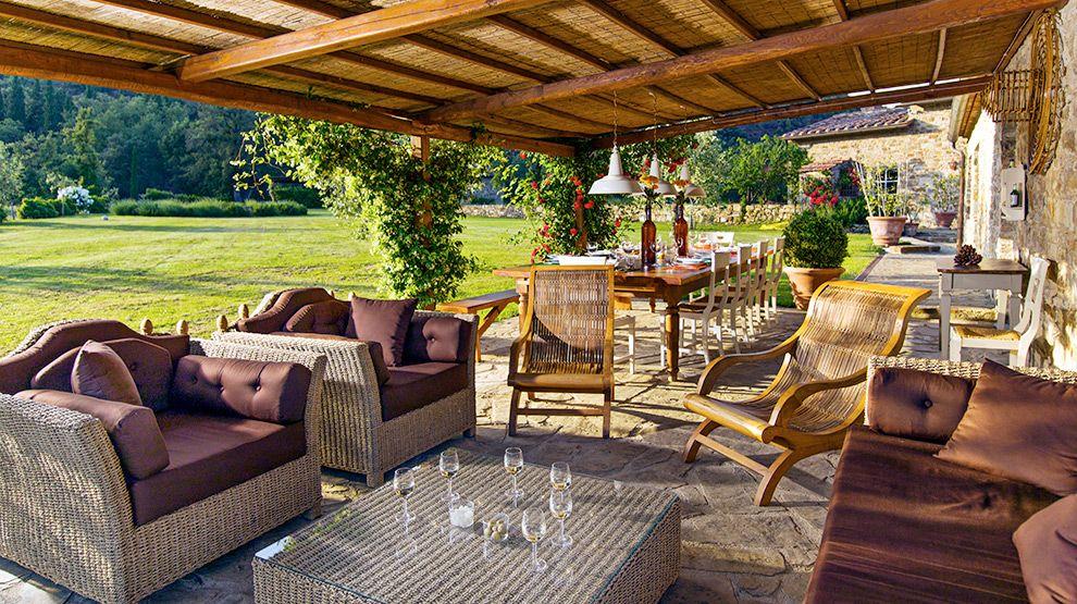 Create A Tuscan Patio Tags Design Patios Summer