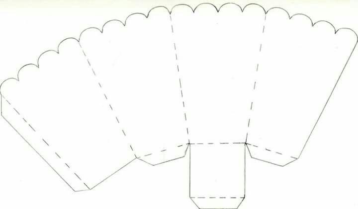 Caja Pochoclos Cajas De Palomitas De Maiz Moldes De Caja Cajas