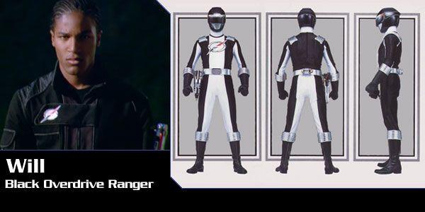 Will Aton (Black Overdrive Ranger) - Power Rangers Operation