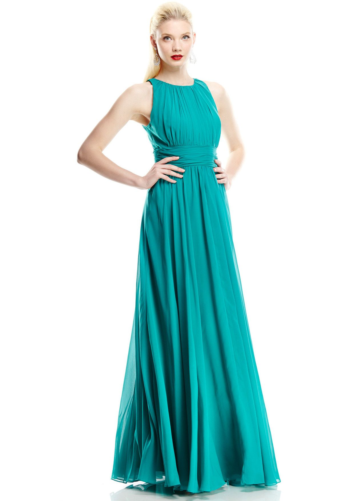 ideeli | BADGLEY MISCHKA Sleeveless Pleated Gown, if I never need a ...