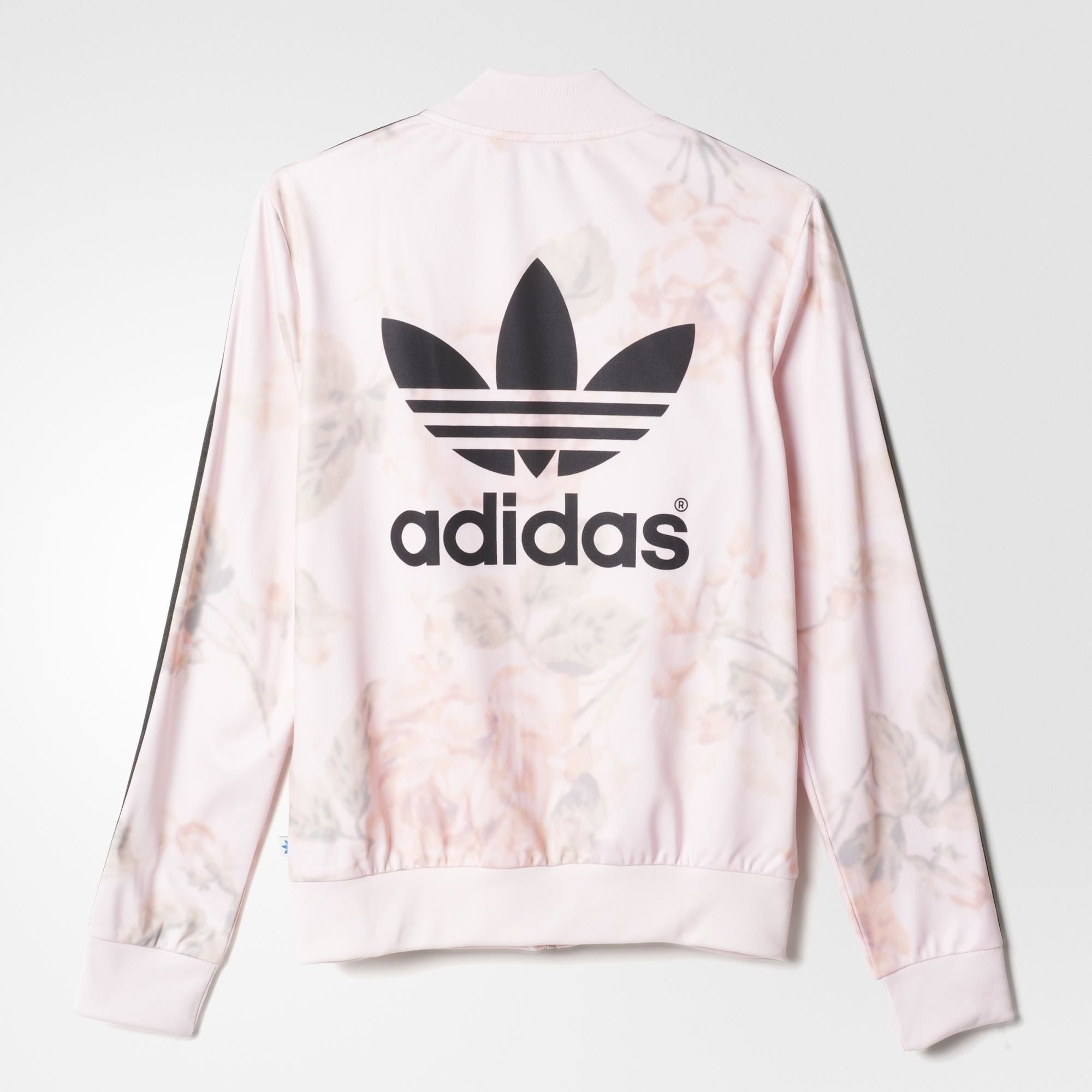 adidas Pastel Rose Track Jacket Multicolor | adidas US