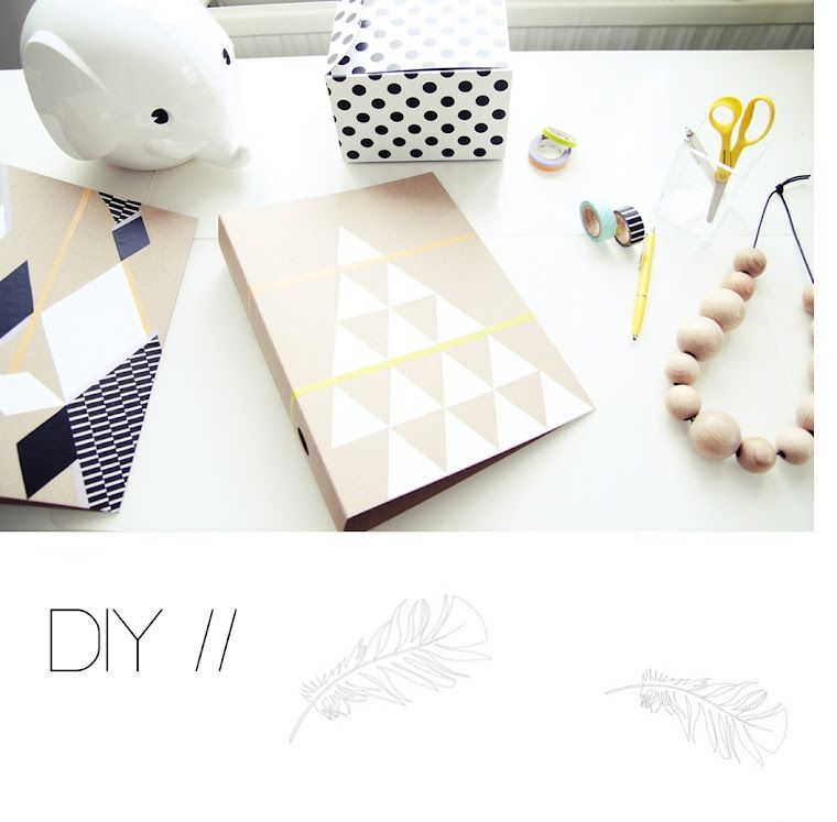 folders don't have to be boring! we love the DIY option of making them unique