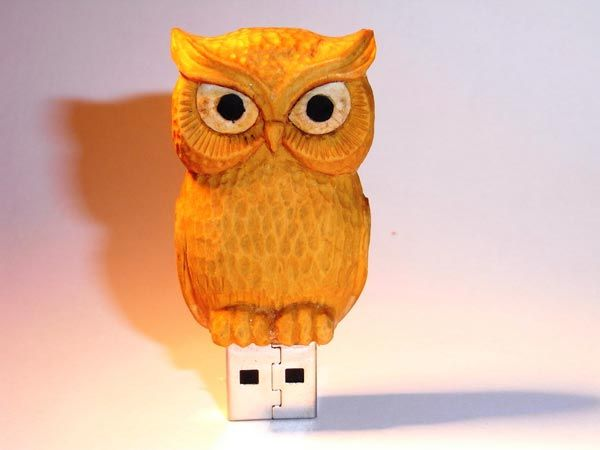 Wood Carving USB