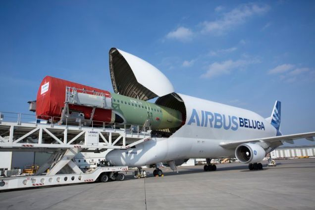 This Plane That Carries Planes Costs A Quarter Of A Billion Dollars Beluga Cargo Aircraft Airbus