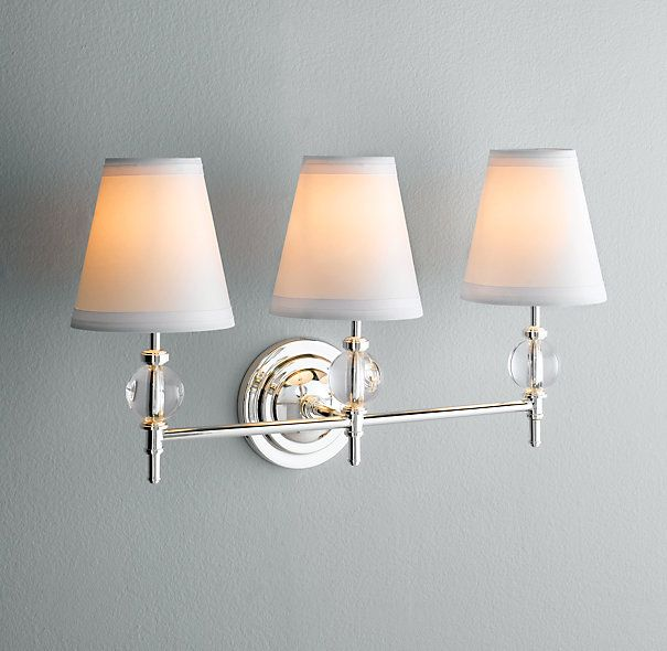 Wilshire Triple Sconce Traditional
