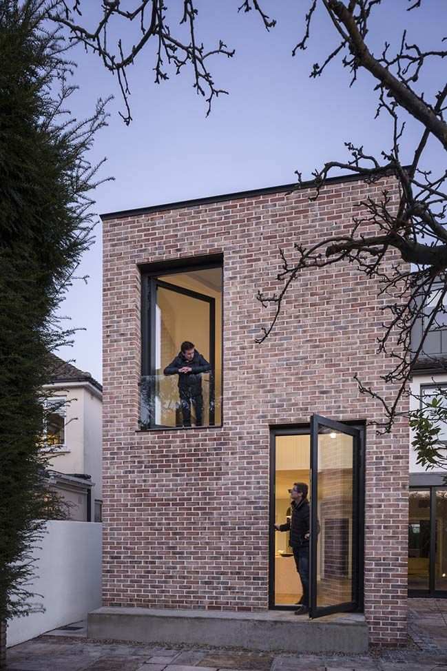 Brick House Addition In Dublin: The Stiles Road In Dublin By Architectural Farm