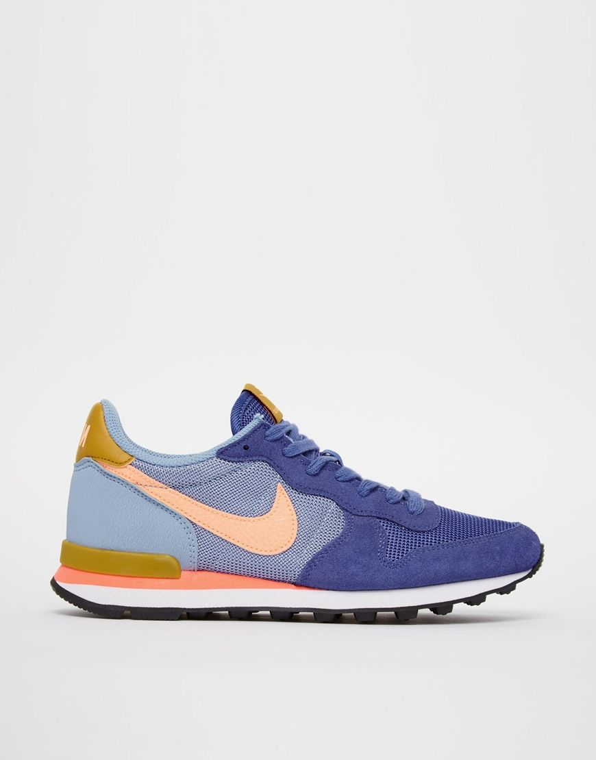 7d3a5002ec Nike Internationalist Blue Legend Trainers | My fashion | Trendy ...