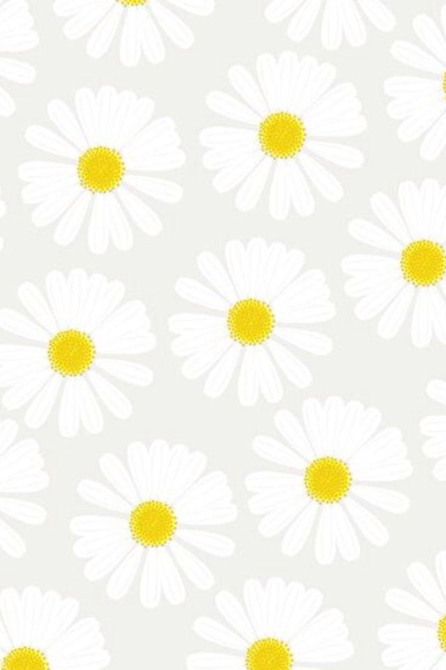 Daisy pattern wallpaper - photo#30