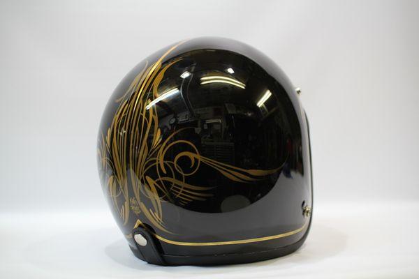 営業 してました ヘルメット ペイント ヘルメット して