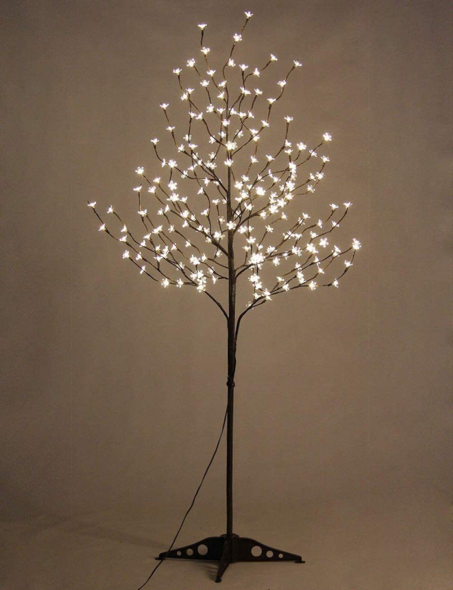Blossom Prelit Tree Light 6 65 8 Ft Warm Light Up Tree Etsy In 2021 Cherry Blossom Light Tree Light Up Tree Blossom Trees