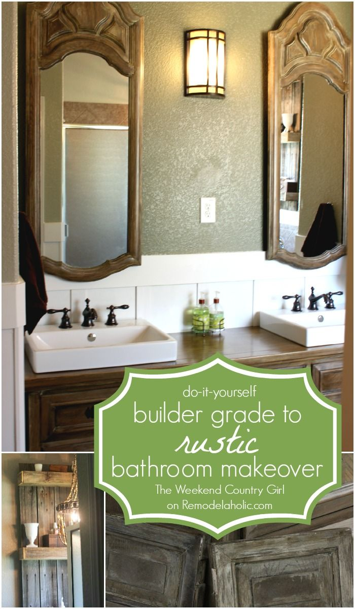 My Bathroom Needs This Give A Builder Grade Bathroom A Makeover And - Makeover my bathroom