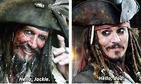 Jack Sparrow's father | Pirates of the caribbean, Captain jack ...
