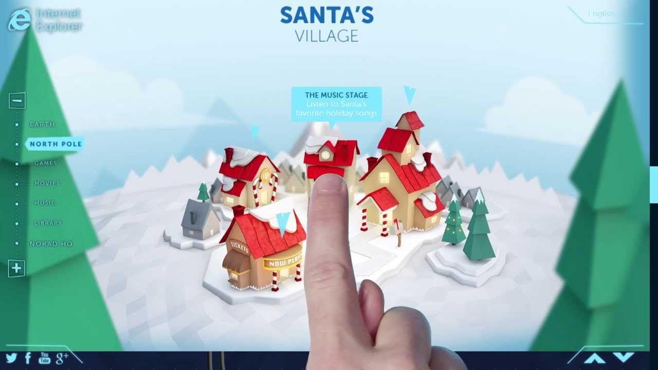 NORAD Tracks Santa History & Technology HAPPY HOLIDAYS