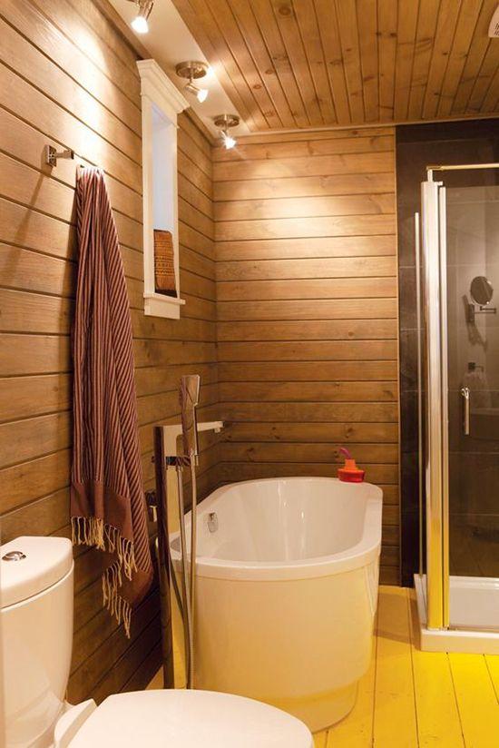 9 façons d\'accroître la lumière dans une salle de bains sans fenêtre ...
