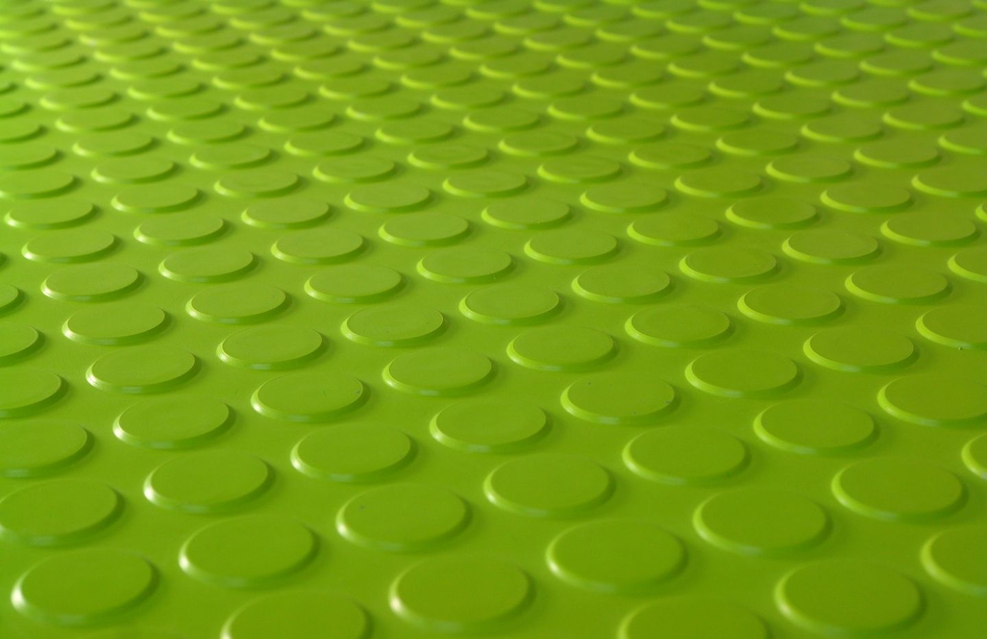 There is something about this vibrant green rubber flooring from DRF France  Limited (Exclusive Dalsouple