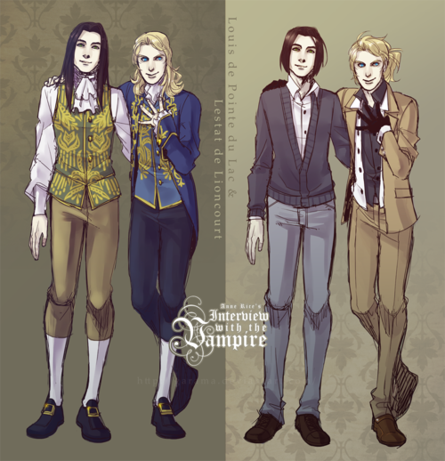 louis de pointe du lac and lestat de lioncourt cosplay