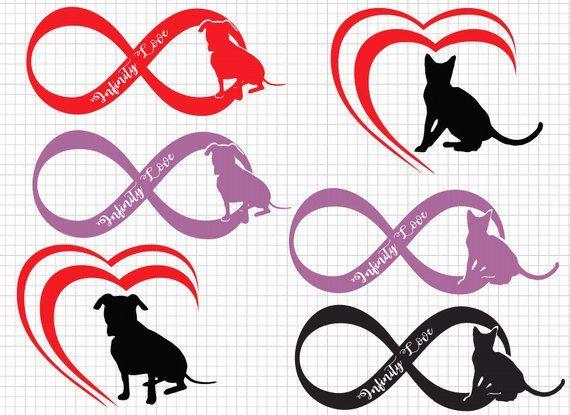 Download Love to animals svg, cat love, dog love, infinity love svg ...