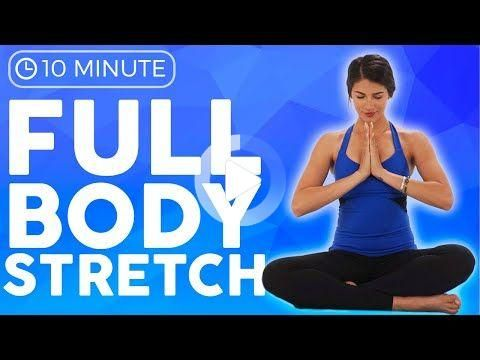 10 minute full body yoga stretch in bed all levels