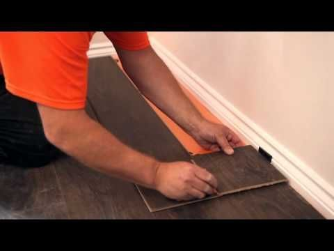 How To Lay A Laminate Floor Youtube Pinterest