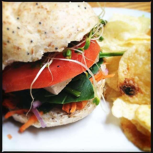 The Vegan Sandwich At Tomato Head Knoxville Tn Vegan Sandwich Healthy Eating Vegan Life Healthy