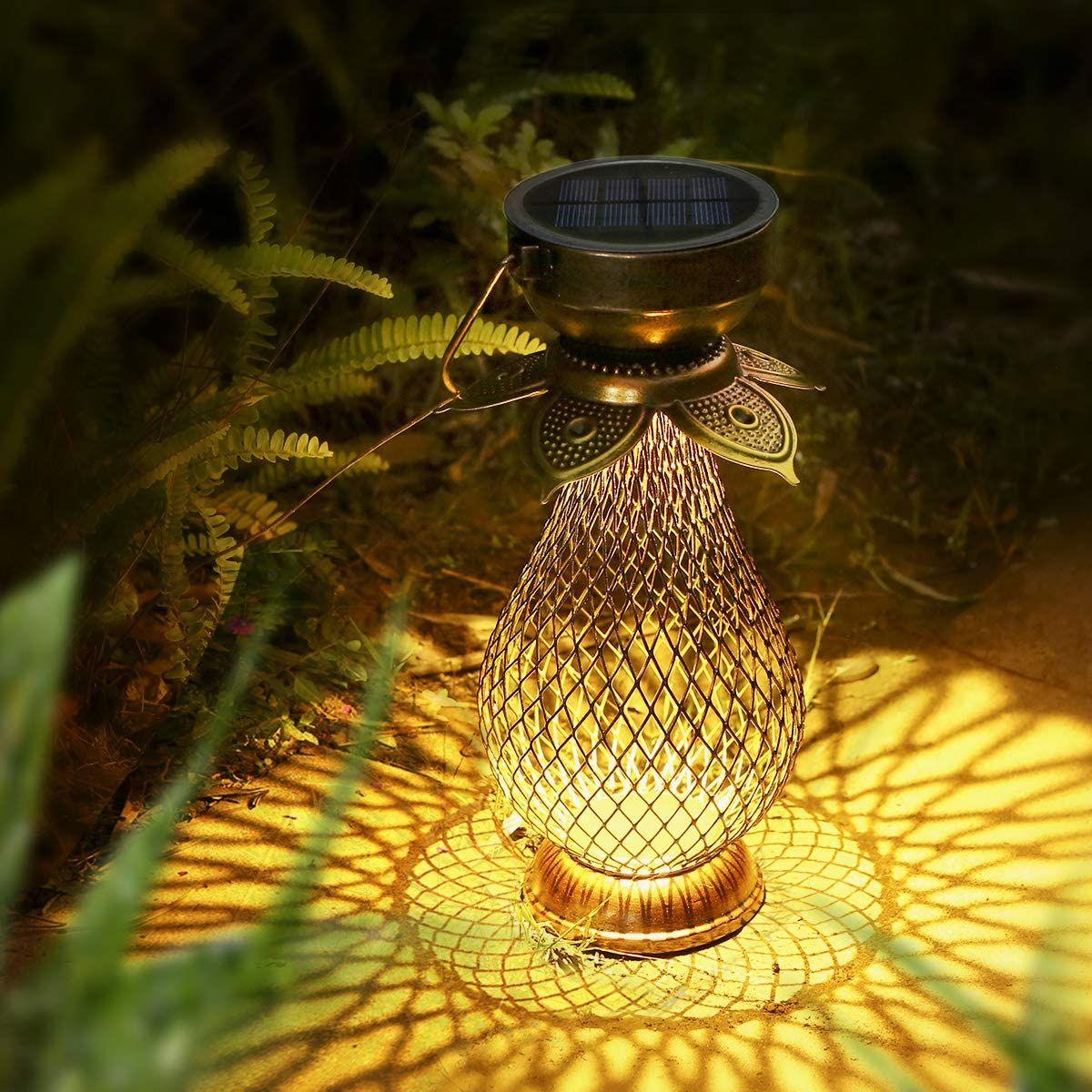 Solarlaterne Fur Aussen Gorvitor Led Retro Dekorative Solarlampe Garten Laterne Solarlaterne Hangend Ip44 Wasser Laterne Garten Solarlampen Garten Solarlampe