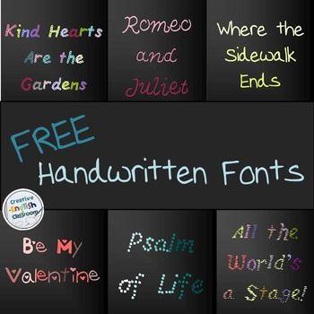 Download Handwritten Fonts   Font packs, Handwritten fonts ...