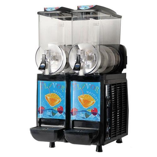 Serve Canada Two Bowl Slush Machine Commercial Restaurant Equipment Slush Machine Commercial Kitchen Equipment
