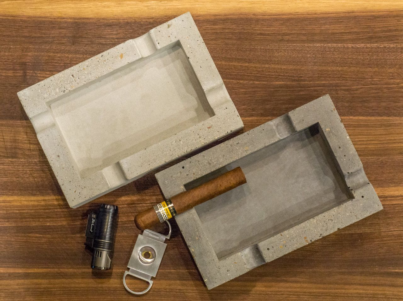 Concrete Cigar Ashtray Cigar Ashtray Concrete Diy Projects Cement Diy