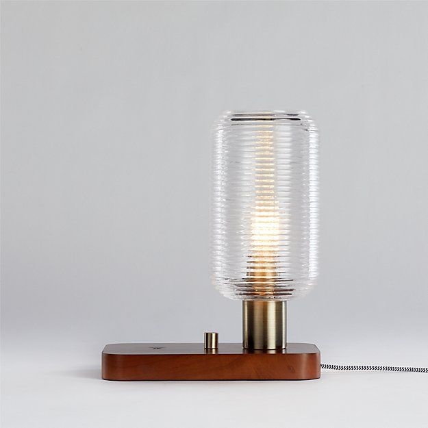 Charlie Charging Table Lamp Reviews Crate And Barrel Table Lamp Lamp Crate And Barrel