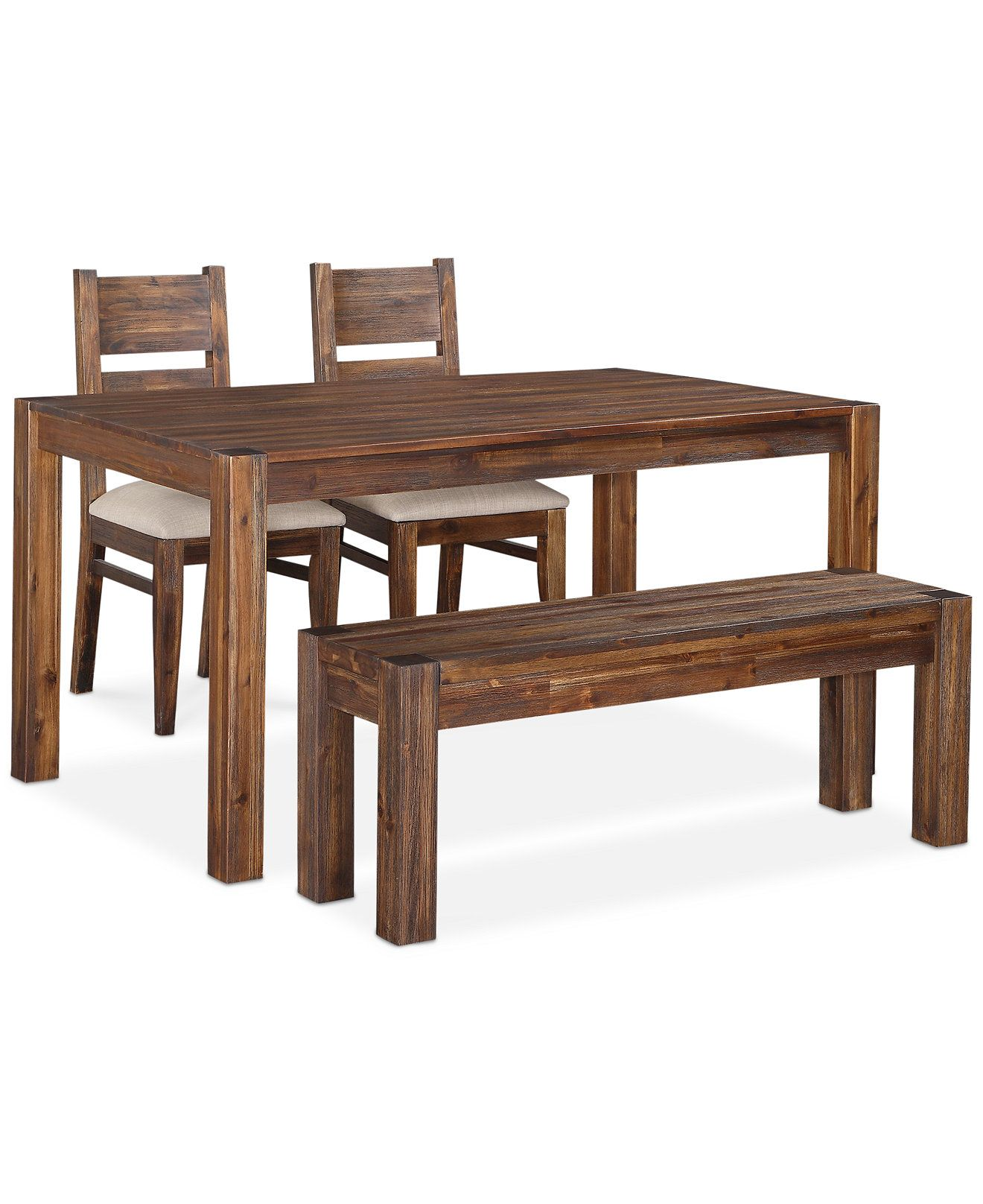 Avondale 4 Pc Dining Room Set Created For Macy S 60 Table