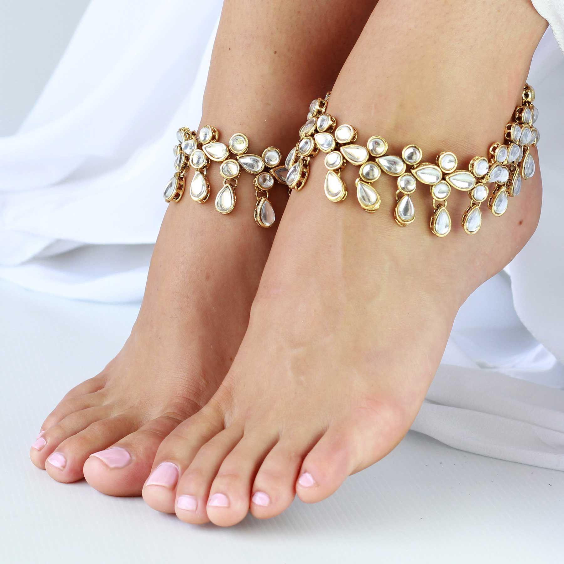 Anklet amerita by forever soles forever soles bridal shoes