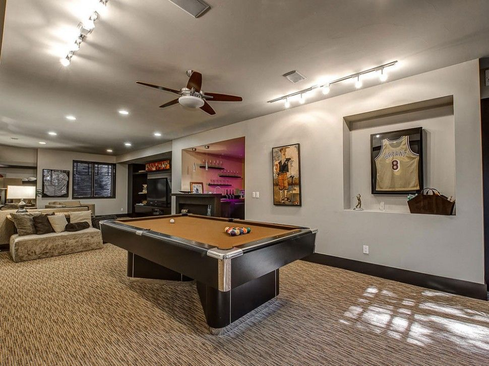 Decor:Pool Table Entertainment Space Sporty Decorations Advanced Home  Design Developing Elegant And Entertaining Home