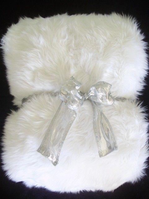 White Shag Faux Fur Throw Blanket Large Fur Throw Blanket Faux Fur Throw Blanket Fuzzy Blanket