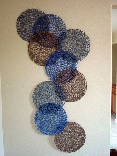 DIY wall art with Ikea Placemats | Home Decor | Pinterest ...