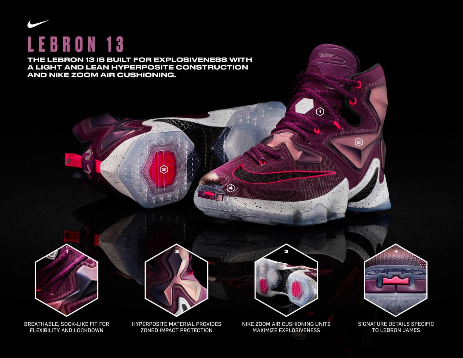 sports shoes 25f5e 34449 Nike Officially Unveils the  Written in the Stars  LeBron 13 Coureurs  Adidas, Chaussures