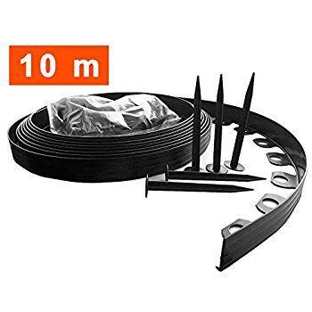 Buy In Uk 10 Metre Flexible Plastic Lawn Edging With 400 x 300