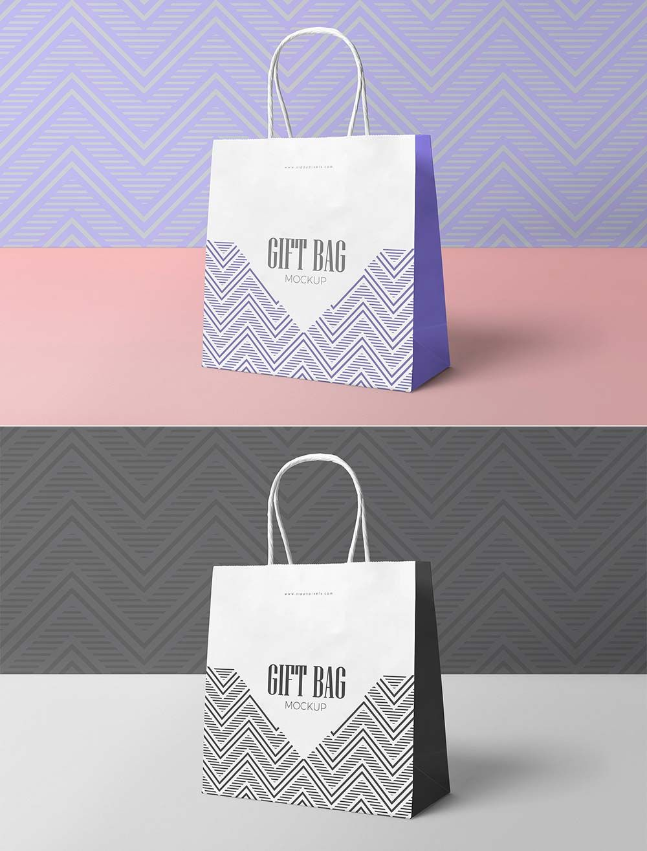 Download Free Attractive Gift Bag Mockup Mockuptree Bag Mockup Attractive Gift Gift Bag