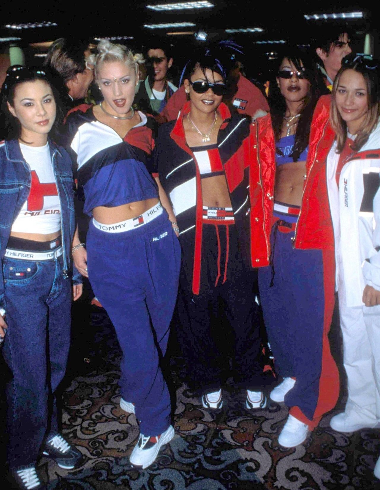 China Chow Gwen Stefani Kidada Jones Aaliyah And Rashida Jones