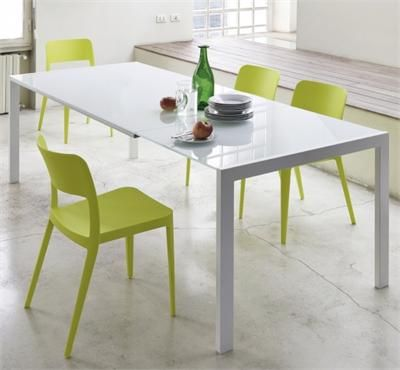 Dining Table Opla Extension Table MIDJ in Italy - Dining Tables and ...