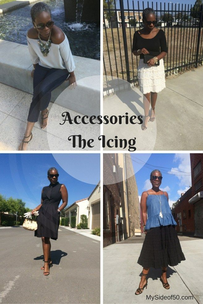 Glenda K. Harrison - Accessories: The Icing. How Accessories can enhance your look and style story. MySideof50.com