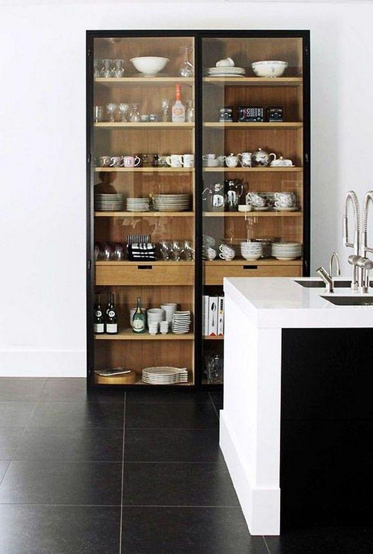 20 Admirable Black White Wood Kitchens Design Ideas ...