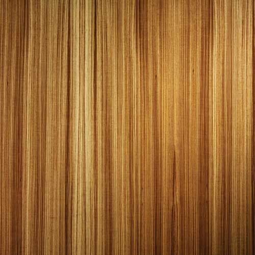 Wood veneer finishes for interior wall