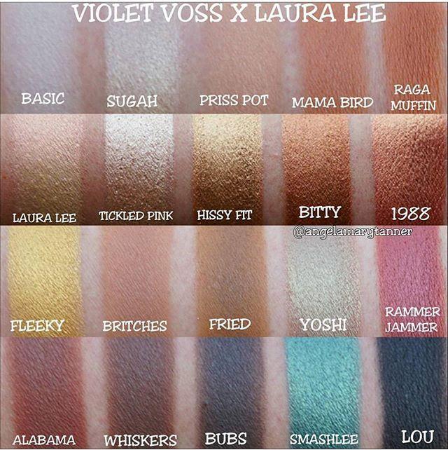 Violet Voss x Laura Lee Makeup 101 d6afe6d0e